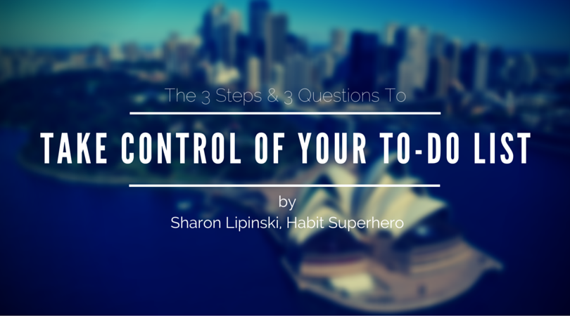 Take Control of Your To-Do List