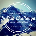 14 Day Habit Challenge: Create a Healthy Habit
