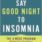 Giveaway: Say Goodnight to Insomnia