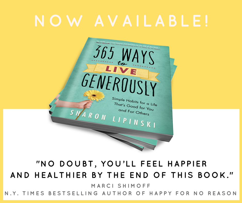 Image: Click Here to Order 365 Ways To Live Generously
